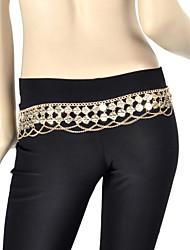 cheap -Belly Dance Belt Coin Women's Training Metal / Ballroom