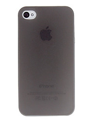 cheap -Case For iPhone 4/4S / Apple iPhone 4s / 4 Back Cover Soft TPU