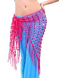 cheap -Belly Dance Belt Women's Training Polyester Tassel Hip Scarf / Ballroom