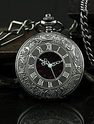 cheap -Men's Pocket Watch Quartz Black Casual Watch Analog Vintage Aristo - Black One Year Battery Life / SSUO 377