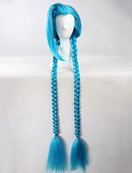 Недорогие -Парики для Лолиты Сладкое детство Синий Лолита Парики для Лолиты 53 дюймовый Косплэй парики Однотонный Парики Хэллоуин парики