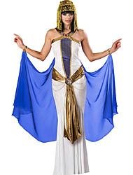 Недорогие -Египетские костюмы Косплэй Kостюмы Жен. Хэллоуин Карнавал Фестиваль / праздник Полиэстер Жен. Карнавальные костюмы