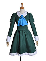 cheap -Inspired by Cosplay Mary Video Game Cosplay Costumes Cosplay Suits / Dresses Patchwork Long Sleeve Dress Costumes