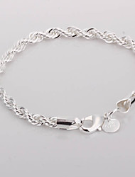 cheap -Women's Charm Alloy Bracelet Jewelry Silver For Party Special Occasion Anniversary Birthday Casual