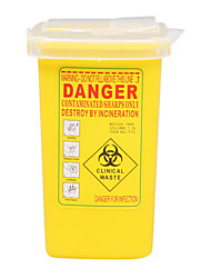 cheap -Sharps Collector 1L Yellow