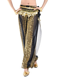 cheap -Belly Dance Bottoms Women's Performance Chiffon Sequin Pants