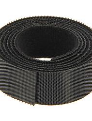 Недорогие -волшебная лента черного 100 м * 20 мм для управления проводом