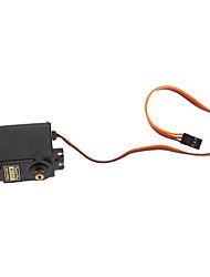 Недорогие -360 градусов MG995 передач сервопривода для робота дистанционного управления Автомобили 55G Медь