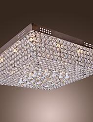 cheap -50 cm Crystal / LED Flush Mount Lights Electroplated Modern Contemporary 110-120V / 220-240V / G4