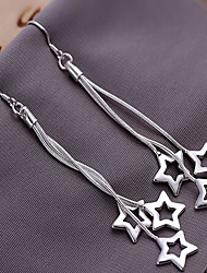 cheap -Women's Drop Earrings Star Ladies Earrings Jewelry Silver For 1pc