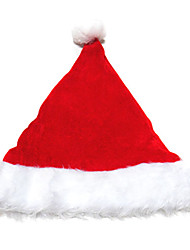 cheap -Santa Suit Hat Christmas Festival / Holiday Faux Fur Velvet Carnival Costumes