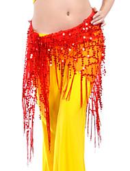 cheap -Belly Dance Belt Women's Training Polyester Sequin Hip Scarf / Ballroom