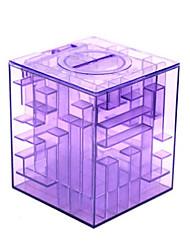 cheap -Money Maze Coin Box Puzzle Game Prize Saving Bank within a Ball(Random Color)
