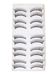 cheap -Makeup Tools False Eyelashes 10 pcs Eyelash Classic Hand Made / Black / High Quality Daily Makeup Cosmetic