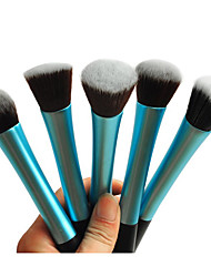cheap -1pcs-light-blue-nylon-hair-aluminium-handle-makeup-blusher-foundation-powder-brush-random-type-17x3x2cm