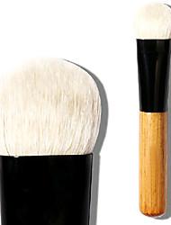 cheap -Professional Makeup Brushes Eyeshadow Brush 1 Travel Large Blending Premium flawless Buffing Stippling Concealer Goat Hair / Goat Hair Brush for Cream Liquid Powders