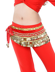 cheap -Belly Dance Belt Women's Training Velvet Beading / Coin / Ballroom