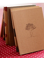 cheap -Dream Time Kraft Paper Cover Diary Notebook