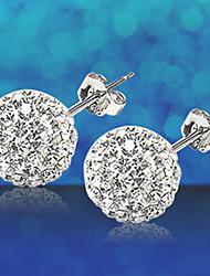 cheap -MISS U Women's Silver Earrings