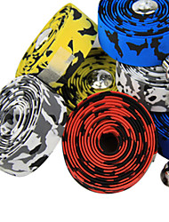 cheap -Bike Handlebar Tape 18 mm Road Bike Mountain Bike MTB Cycling Yellow Red Blue