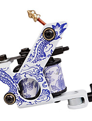 cheap -Dual Coils 8 Wraps Tattoo Machine Gun