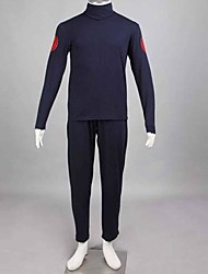 preiswerte -Inspiriert von Naruto Asuma Sarutobi Anime Cosplay Kostüme Japanisch Cosplay Kostüme Patchwork Langarm Binde Weste Hosen Für Herrn / T-shirt / Taille Accessoire / Taille Accessoire / T-shirt