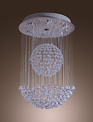 "cheap -SL® 7-Light 51(20"") Crystal Flush Mount Lights Chrome Modern Contemporary 110-120V / 220-240V / GU10"