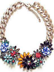 Недорогие -Мода Diamante Сеть Цветы Кулон