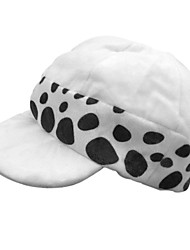 cheap -Hat / Cap Inspired by One Piece Trafalgar Law Anime Cosplay Accessories Hat Polyester Men's Halloween Costumes