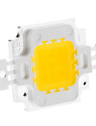 cheap -DIY 10W 820-900LM 900mA 3000-3500K Warm White Light Integrated LED Module (9-12V)