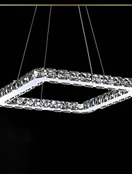 cheap -1-Light UMEI™ 20 cm Crystal / LED Pendant Light Metal Linear Electroplated Modern Contemporary 90-240V