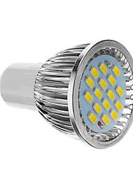 billige -4 W LED-spotlys 350-400 lm GU10 16 LED Perler SMD 5730 Kold hvid 85-265 V / CE