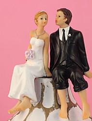 Недорогие -Украшения для торта Классика Классическая пара Резина Свадьба с Подарочная коробка