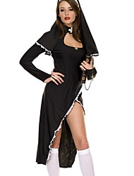 cheap -Career Costumes Cosplay Costume Women's Halloween Carnival New Year Festival / Holiday Polyester Women's Carnival Costumes / Hat