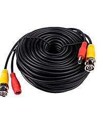 Недорогие -Кабели BNC Video and Power 12V DC Integrated Cable для Безопасность системы 2000cm 0.35kg