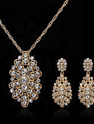 cheap -Jewelry Set Women's Anniversary / Wedding / Engagement / Birthday / Gift / Party / Special Occasion Jewelry Sets Alloy Rhinestone