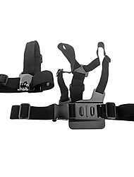 cheap -black chest head mount harness for gopro hd hero 2 3