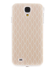 cheap -Case For Samsung Galaxy S4 Pattern Back Cover Geometric Pattern PC