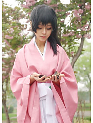 cheap -Inspired by Cosplay Chizuru Yukimura Video Game Cosplay Costumes Cosplay Suits / Kimono Solid Colored Top Pants Belt Costumes
