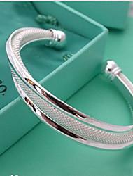 cheap -MISS U Silver Tricycle Bracelet