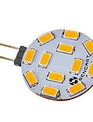 cheap -1pc 5 W LED Spotlight 550-600 lm G4 12 LED Beads SMD 5730 Warm White 220-240 V
