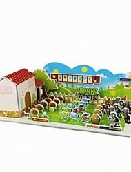 Недорогие -Лошадь 3D пазлы Деревянные пазлы Бумажная модель Деревянные игрушки Бумага Детские Взрослые Игрушки Подарок