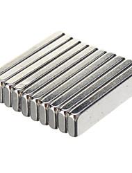 cheap -High Quality 20 X 5 X 2Mm Powerful Ndfeb Magnets - Silver (10 Pcs)