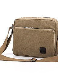 cheap -Men's Canvas Crossbody Bag Canvas Bag Gray / Brown / Cream