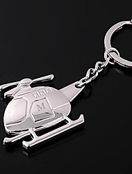 cheap -Personalized Engraved Gift Helicopter Shaped Keychain