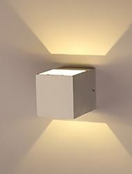 cheap -Modern Contemporary Flush Mount wall Lights Hallway Metal Wall Light 1 W / LED Integrated