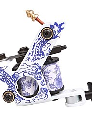 cheap -8 Wrap Coils Carbon Steel Liner Shader Beginner Tattoo Machine Gun