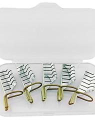 cheap -5pcs reusable nail forms uv gel acrylic french tips art
