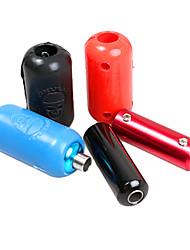 Недорогие -Силикагель татуировки Machine Gun ручка крышки и алюминиевого ручки (цвет случайный)