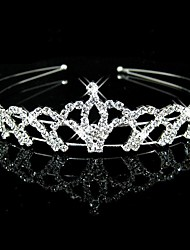 cheap -Crystal / Rhinestone / Fabric Tiaras / Headbands with 1 Wedding / Party / Evening Headpiece